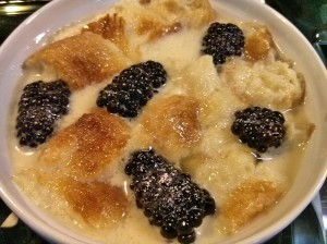 soak bread pudding