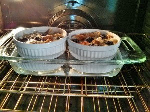 bake bread pudding