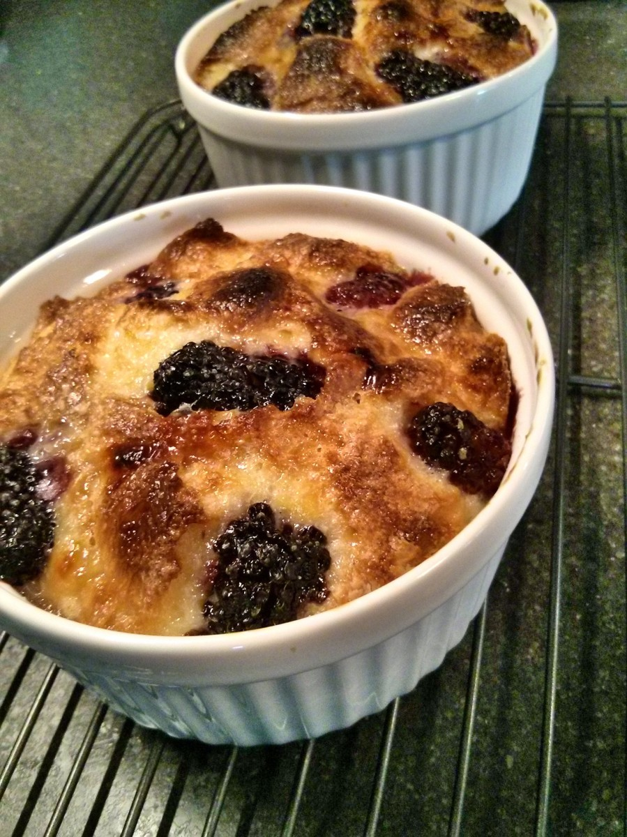 Celebratory Cafe Bread Pudding | Becoming Hippies