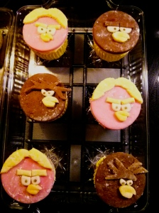 Used the fondant to make Star Wars Angry Birds cupcake toppers for my son's birthday party.  Not too shabby for winging it.  :)