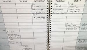 First Grade Planner